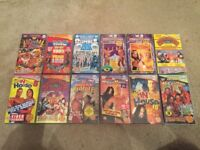 WWE WWF WCW Wrestling 22 VHS Tapes Collection Job Lot