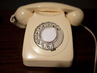 Retro Dial Telephone
