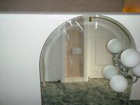 Bathroom wall light mirror