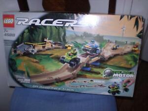 Lego Racers with Off Road Race Track