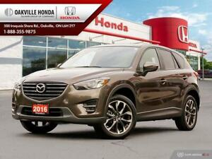 2016 Mazda CX-5 1-Owner|Clean Carfax|Leather|Heated Seats|Naviga
