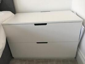 IKEA Bedside Table x 2, Fully Assembled, PERFECT CONDITION