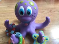 Nuby Octopus Bath Toy good condition