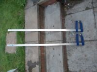 pair of sash clamps 1000mm