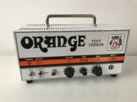 Orange Tiny Terror guitar amp head, Boxed, with 'Orange' carry Case