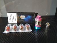 Resin FreeMax Fireluke Mesh & Coils Vape Tank