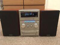 Panasonic CD/DAB/Radio/Cassette/Aux Stereo Hi-Fi System
