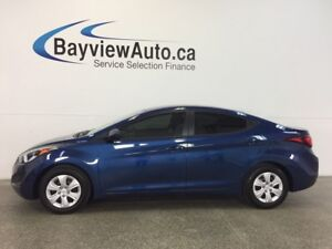 2016 Hyundai ELANTRA L- 1.8L! 6 SPEED! ECO MODE! BUDGET BUDDY!