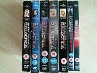 Battlestar Galactica complete plus movies.