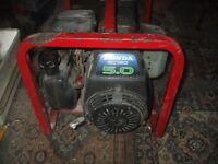 honda 5 hp. Generator
