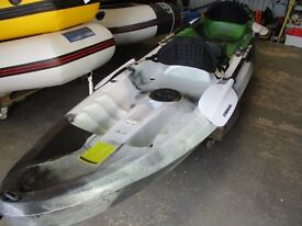 new 2+1 fishing kayak package