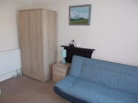 Room to rent on Sauthbourne/Pokesdown border. Sharing with nice lady her son and their cat