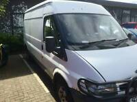 Ford Transit 2.4 280 Semi High Roof LWB Been Remapped With New Fuel Filter SPARES & REPAIRS