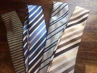 4 ties for £8