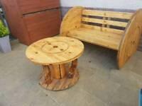 Unique garden table
