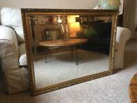 Extra Large Giltwood Mirror