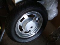 MOTORCYCLE WHEELS AND TYRES