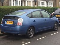 Toyota Prius T3 1.5 Hybrid 5dr Blue 2-keys HPI-Clear £2398 no time wasters or silly offers