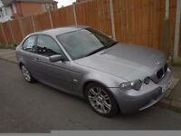 PRICE DROPPED - BMW 320 TD COMPACT- E46 - MANUAL - 3 SERIES