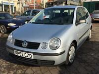 Volkswagen Polo 1.2 S 2003 + SERVICE HISTORY + 12 MONTHS MOT + DRIVES SUPERB