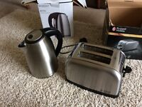 Toaster and Kettle, almost new