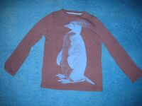Used good quality (Boden and John Lewis) boys long-sleeved tops (size: 7-9 years)