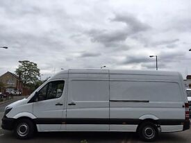 2014 MERCEDES SPRINTER 313 CDI LWB.BRILLIANT DRIVE.1 OWNER. FULL SERVICE HISTORY.E/W.CD PLAYER.CLEAN