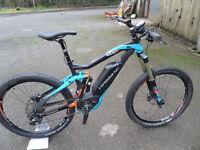 Haibike Xduro Nduro RX Bosch Electric Full Suspension Ex Demo MTB Full Guarantee Located in Bridgend