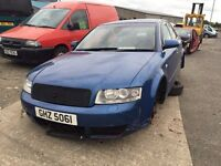 2003 Diesel 2.5 Quattro Audi A4, Breaking for parts only, Postage Nationwide