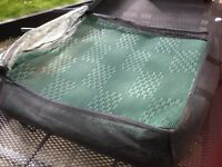 Camping/Caravanning - 2 x Breathable groundsheets - 8ft x 14ft each - for awning / trailer tent etc.