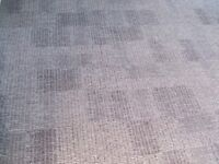 NEW Milliken Consequence Europe Edit Carpet Tiles in Shades Dark and Light Grey Gray £2.50 Per Tile