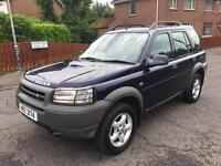 2001 FREELANDER TD4 GS 2.0L TD TOWBAR 5-DOOR HATCHBACK MOTD TIL JANUARY 2018 TRADE IN WELCOME £975