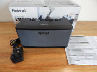 ROLAND CUBE LITE 10W Guitar Amplifier with effects_Hardly used_!!!