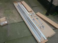 Ikea sliding wardrobe door runner track