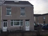 Very large one bedroom flat in Brynmill, Swansea with enclosed garden. DSS welcome.