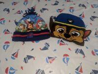 Boys paw patrol hats! 1-3 years