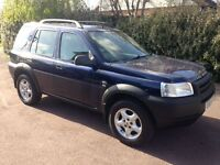 2003 Land Rover Freelander TD4 Automatic, MOT July 2017, one previous owner, just 87k !!!