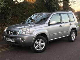 2004 NISSAN X-TRAIL SPORT DCI, 2.2, DIESEL, ONE FORMER KEEPER WITH NEW MOT AND SERVICE HISTORY.