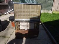 Valor Calor Gas heater and empty bottle