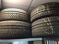 4 Winter Tyres – Michelin Pilot Alpin PA4