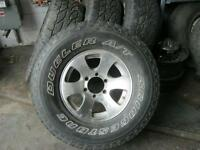 mag original for 4runner 16 in with summer tires....on sale