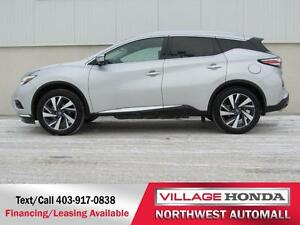 2016 Nissan Murano Platinum AWD | No Accidents |