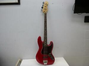 Fender Jazz Bass (Made In Mexico - 1997 - Red) - We Buy And Sell Musical Instruments - 23875 - CH411405
