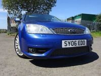 06 FORD MONDEO ST 2.2 DIESEL,MOT JAN 019,3 OWNERS FROM NEW,2 KEY,PART SERVICE HISTORY,LOVELY EXAMPLE