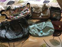 6 handbags. Bailey & Quinn. Kiplin