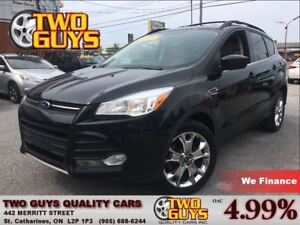 2013 Ford Escape SE LEATHER PANOROOF AWD 2.0L ECO