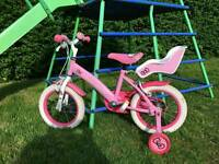Hello Kitty 14inch Girls Bike