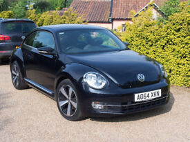 VW Beetle 1.4TSI Sport, Full VW Service History, 1 Female Owner, 28,000miles, MOT 05/12/2018