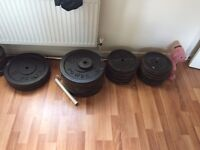 Weight Plates Various sizes £1 per Kg