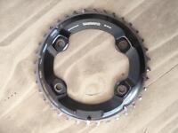 Shimano xt 2 x chain rings